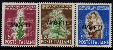 1950 TRIESTE Tobacco Conference