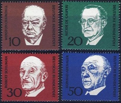 1968 Konrad Adenauer (1st Issue)