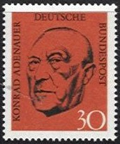 1968 Konrad Adenauer (2nd Issue)