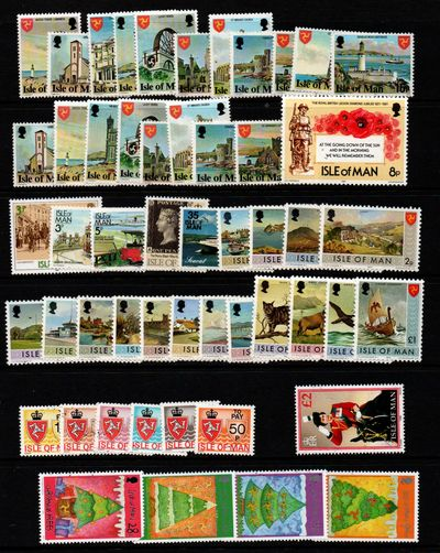 Isle of Man U/M Lot