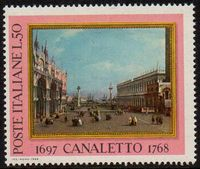 1968 Death Bicentenary of Canaletto