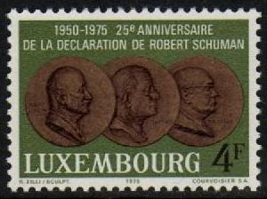 1975 25th Anniv. Schuman Declaration