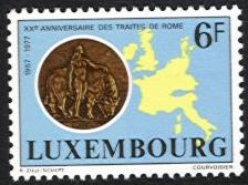 1977 20th Anniv. of Rome Treaty