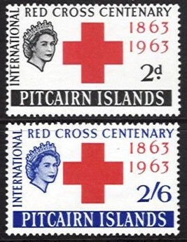 1963 Red Cross Centenary (L/M/M)