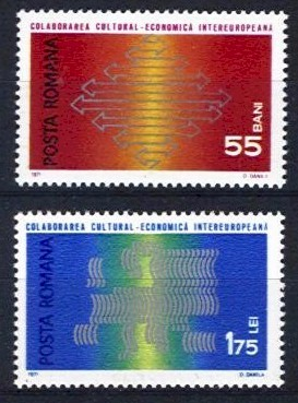1971 Cultural and Economic Co-operation (2v)