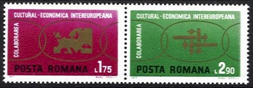 1972 Cultural and Economic Co-operation (2v)