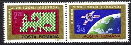 1974 Cultural and Economic Co-operation (2v)