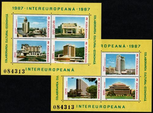 1987 Cultural and Economic Co-operation (M/S x 2)