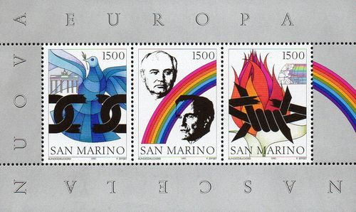 "1991 ""Birth of a New Europe"" M/S"
