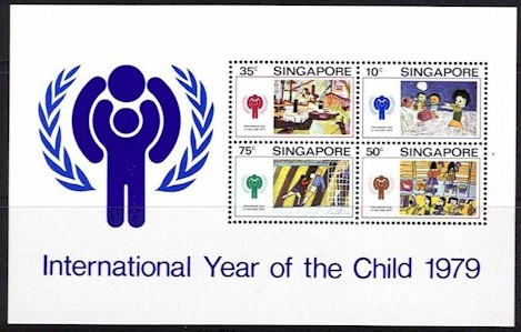 1979 Year of the Child Singapore M/S