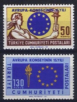 1964 Anniversary of Council of Europe