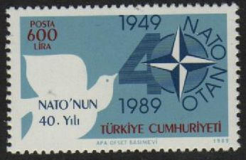 1989 40th Anniversary of N.A.T.O.
