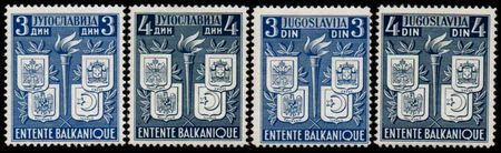 1940 Balkan Entente (Singles)