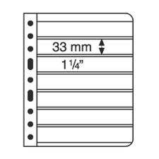 Vario 7C (Clear) Stock Sheets 7 Strip