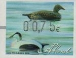 2012 Machine Label €0.75