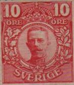 King Gustav V - 1907 to 1950