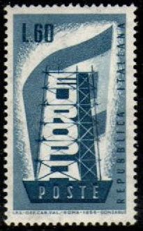 Europa Stamps 1956