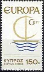 Europa Stamps 1966