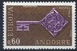 Europa Stamps 1968