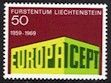 Europa Stamps 1969