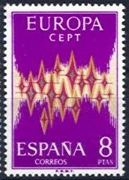 Europa Stamps 1972