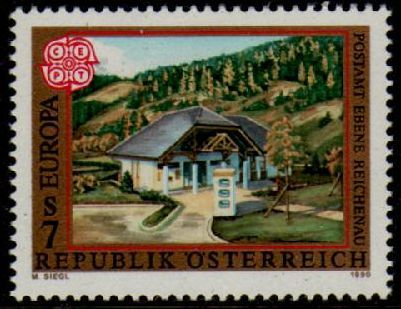 Europa Stamps 1990