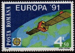 Europa Stamps 1991
