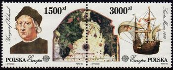 Europa Stamps 1992
