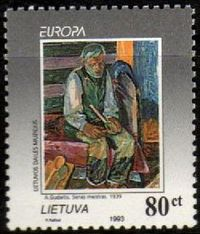 Europa Stamps 1993