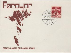 Faroes Cover Cards Cancels etc.