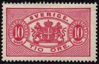 1881-95 Large Type Perf. 13