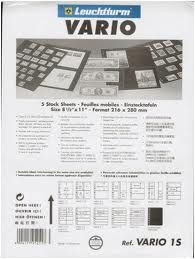 Vario Clear Stock Sheets