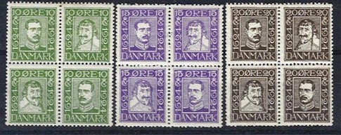 1924 Anniv. of Danish Post (M/M)