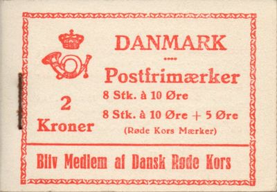 1940 Red Cross Booklet (White)