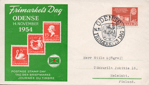 1954 Postage Stamp Day Odense