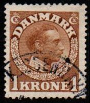 1 Kr Yellow Brown
