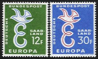 1958 Germany - Saar