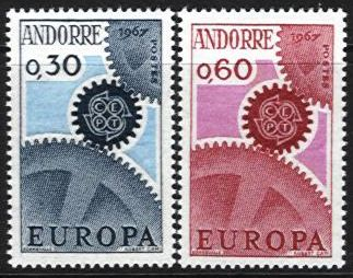 1967 Andorra (French)