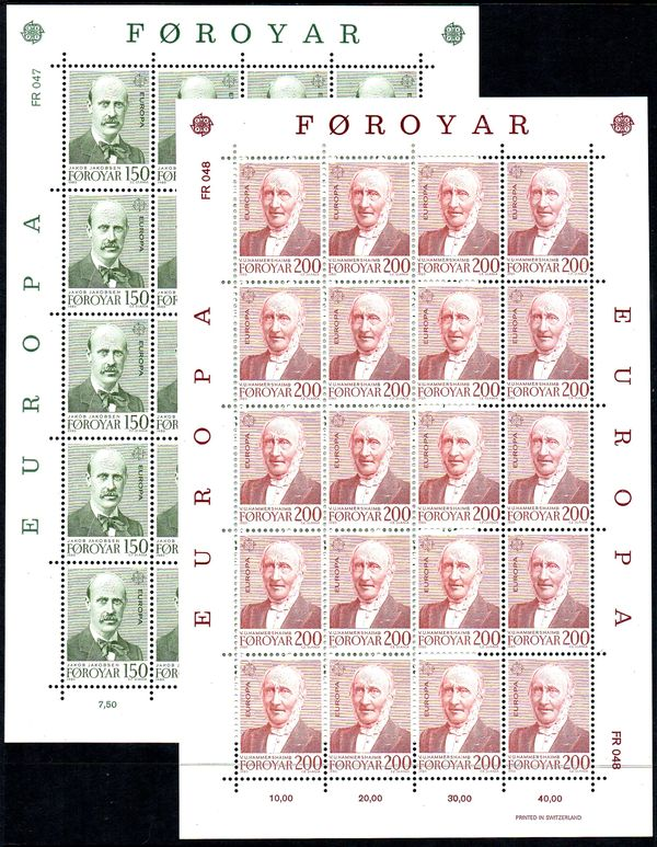 1980 Faroe Islands (Sheets)