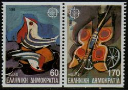 1989 Greece (Ex Booklet)