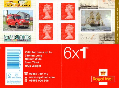 2013 Great Britain (Booklet)