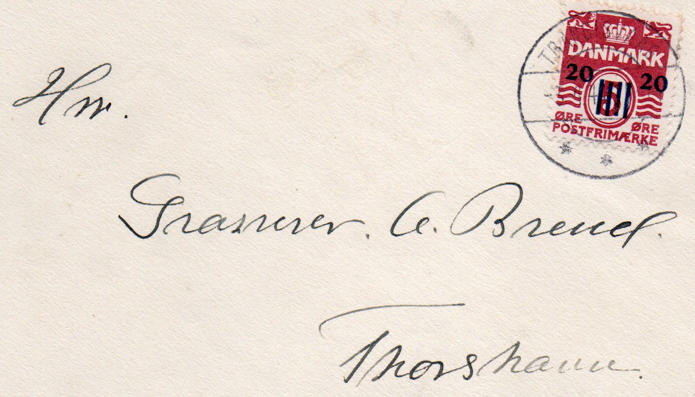 British Occupation 1941 Cover to Thorshavn (3)