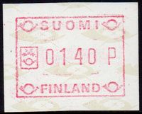 1988 Fixed Value FRAMA Label (140p)