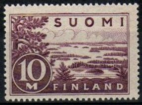 1941 Lake Saimaa 10 Mk (Bright Purple)