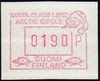 1989 Santa Claus FRAMA Label (190p)