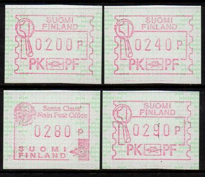 1984 Fixed Value FRAMA Labels