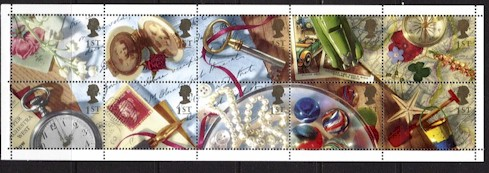1992 Greetings Stamps - Memories