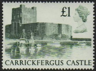 1988 £1.00 Carrickfergus Castle