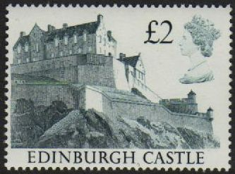 1988 £2.00 Edinburgh Castle