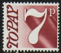 7p Red-Brown